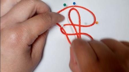 天福饰品教你学做中国结----基础篇10双环结