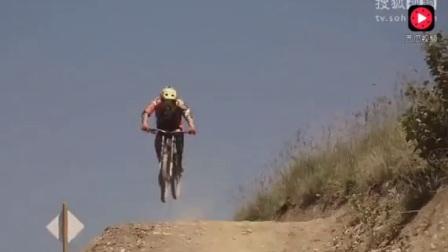 全球最危险活动,无刹车极限山地自行车