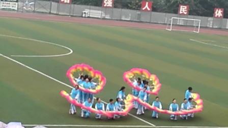 犍为县玉津镇庆祝九九重阳节广场舞大赛