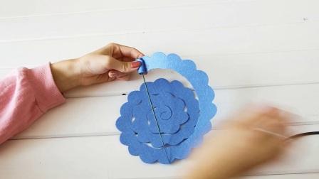 蓝玫瑰—801014缝制教程