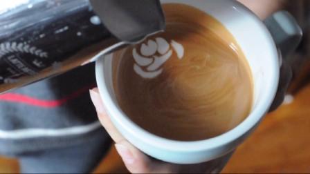【N Coffee Studio】LatteArt拿铁咖啡拉花-凤朝花