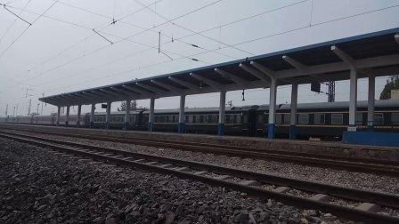 京津HXD3C0371牵引K1620次(深圳东-天津)通过枣强站