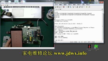 RT809F教程:康佳MSD6A928方案串口的打开方法