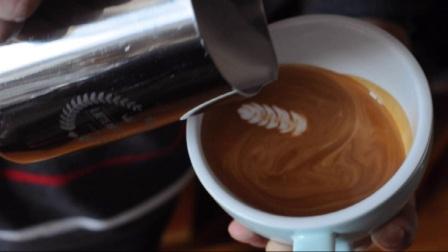 【N Coffee Studio】LatteArt拿铁咖啡拉花-小狗