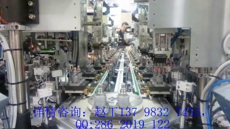 自动化程度最高的汽车传感器产线 精密环形导轨组装线