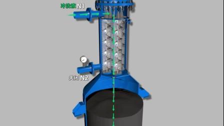 三维动画演示 自洁分离过滤系统 工艺流程演示 北京三维动画制作公司 演示动画制作 13521371853 3D动画制作
