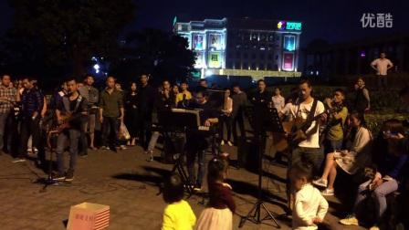 米高专业户外音箱  桂林二号码头乐队 《九月》 歌手 郭子!米高音响