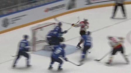 雪豹队vs昆仑鸿星万科龙队赛事集锦【KHL大陆冰球联赛】