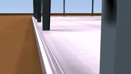 工业建筑围护体系动画