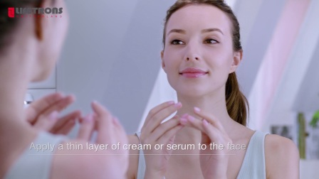【LIFETRONS】Ultrasonic Facial Massager With Ion&Light Therapy UI-200
