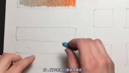 油画棒的10种绘画技巧