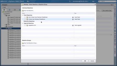 VMware+vSphere+6.5+Embedded+Update+Manager+(VUM)+Demo VMware vSphere 6.5集成的更新管理器