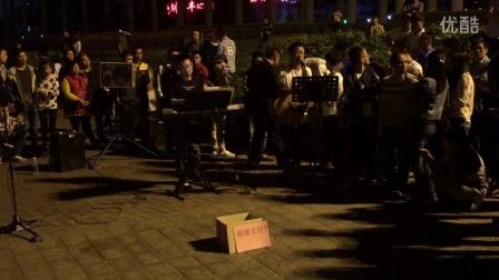 米高专业户外音箱  桂林二号码头乐队 米高音响《好久不见》 歌手 郭子!