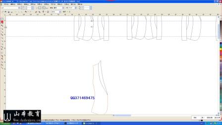 山本教育服装设计公开课-4女西装的绘制山本教育 服装学院 服装手绘图 服装款式图 服装设计教程
