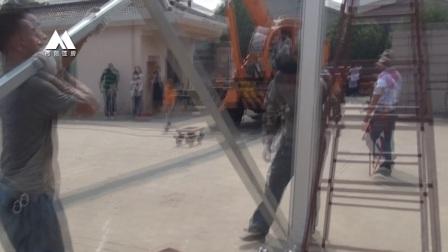 15米篷房搭建视频无锡常元