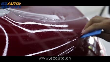 阿尔法罗密欧教你汽车隐形车衣施工步骤!你的汽车有透明膜的保护吗?