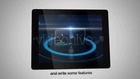 A2124 AE模板-iPad 平板电脑 文字图片 视频展示 媒体网站 游戏 宣传片