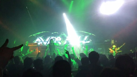 Over kill - live @peking,china 20171017 part 5 encore song fuck you