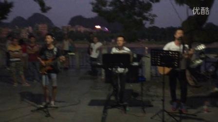 米高专业户外音箱 二号码头乐队演绎 杨培安《我相信》米高音响