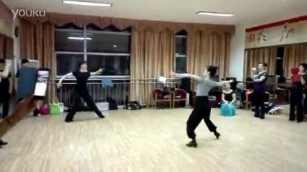 曾苏老师狐步舞教学