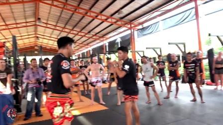 """老虎泰拳教学 - """"穿心腿""""沙玛和宋拉的10个泰拳技术"""