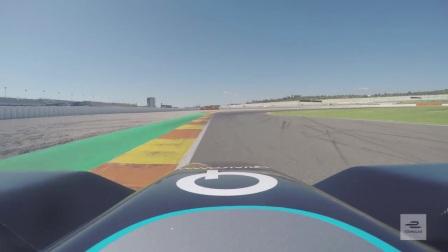FE电动方程式 | F1车手里奥·哈延托测试FE赛车