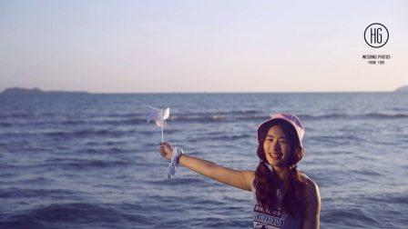 皇宫婚纱摄影-三亚海边拍摄花絮篇
