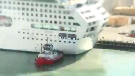 一个视频看懂集装箱、散货、客轮、驳船如何在码头同时有序的作业