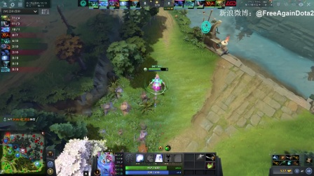 【LGD VS Immortals Bo3#2】PGL布加勒斯特Minor A组胜者组决赛【FreeAgainDota2比赛解说】