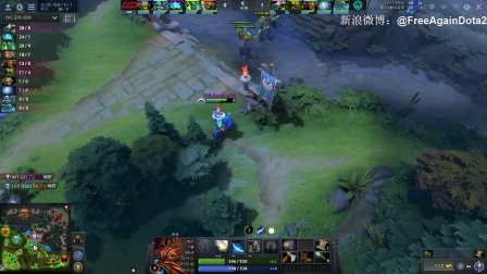 【LGD VS Immortals Bo3#1】PGL布加勒斯特Minor A组胜者组决赛【FreeAgainDota2比赛解说】