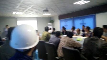 河南巩义碧桂园现场易德筑新型模板加固培训会