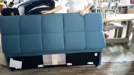 K8730床头靠背不齐调整方法