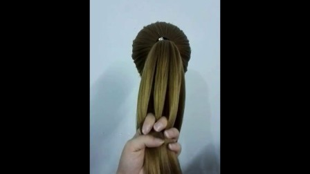 麻花编发教程发型长发娇小图解偏分头辫子儿童苹果头
