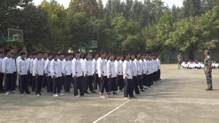2017级20班军训演出