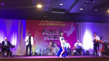 亚洲名师雪雯老师韩国舞蹈节表演