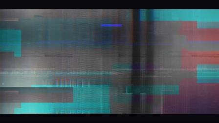 高科技感视差画面故障炫酷数字艺术范图片展示宣传幻灯片 AE模板