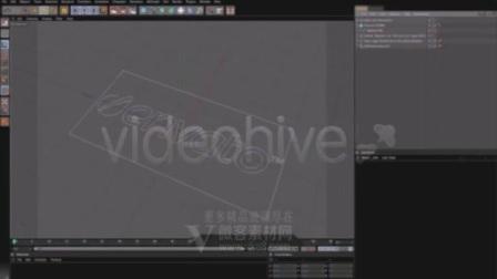 5997 音乐节奏立方柱动画标志-AE模板片头微客素材网AE模板