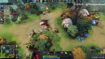 【Mineski VS Immortals Bo3#3】PGL布加勒斯特Minor半决赛【FreeAgainDota2比赛解说】