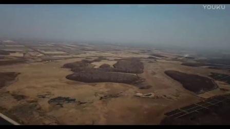 运动模式俯拍八五六农场青山水库(大疆御)