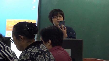 五老志愿者智能手机实用技术培训班1