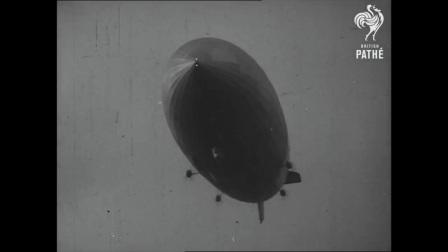 兴登堡号飞艇试飞和坠毁纪录片