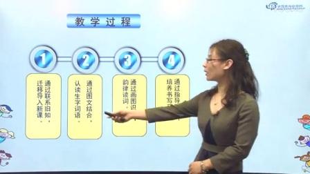 部编版小学语文说课视频《春夏秋冬》