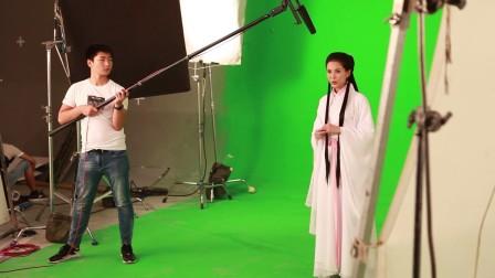 《杨过与小龙女》姑姑李若彤拍摄NG花絮