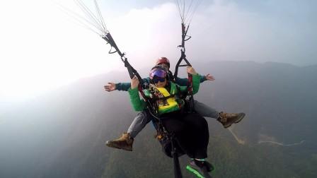 2017-10-24 小鹿褒忠山滑翔伞飞行体验