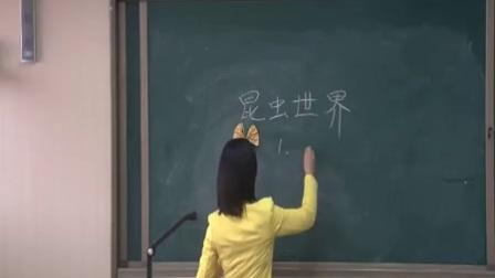 赣美版小学美术二下第5课《虫虫世界》教学视频,贵州
