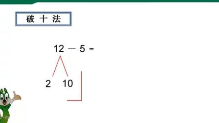 人教版一年级数学《二十以内退位减法》