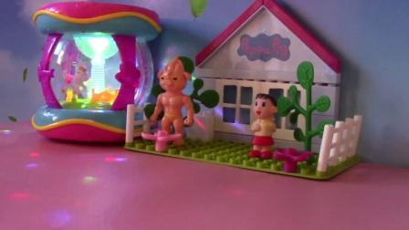 蜡笔小新玩具 微波就像家一样粘糊糊的切水果西瓜香蕉学习颜色泥 (8)