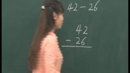 一年级_数学_下学期__一年级数学下册第七章《大海边——100以内的加减法(二)》两位数减两位数的退位减法