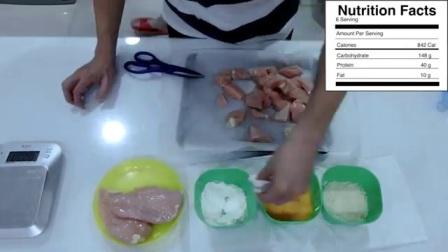 铸肌:高蛋白健身餐之香烤脆鸡胸肉