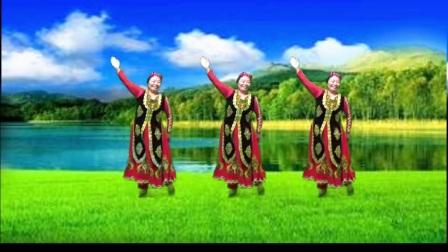 焉耆县神女演示学跳:麦西来普广场舞 舞 拍摄制作:神女